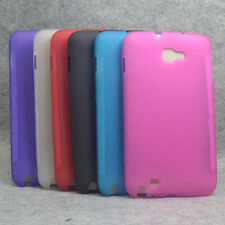 For Samsung Galaxy Note N7000 i717 TPU Matte Gel skin case back cover PD