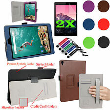 Case Smart Cover Stand For Google Nexus 9 Tablet HTC 8.9-Inch + Accessories Gift