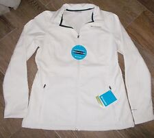 NEW COLUMBIA KRUSER RIDGE SOFTSHELL Sea Salt WOMENS L Large Omni Shield $115 NWT