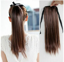 life-like Lady Women Straight Ponytail Pony Tail Hair Extention Wig Hairpiece
