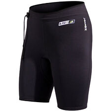 NeoSport 1.5mm Neoprene X-Span Dive Shorts - Black