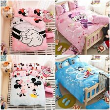 Mickey Mouse King/Queen/Double/Single Bed Quilt/Doona/Duvet Cover Set New Cotton