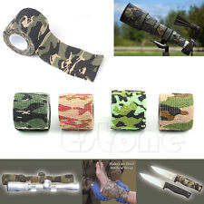 1 Roll Sporting  Waterproof Camo Camping Hunting Hiking Camouflage Stealth Tape