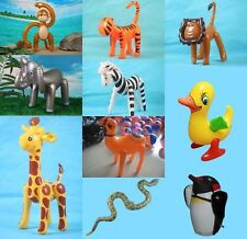 Animal Inflatable Blow up Water Pool Toy Baby Shower Kids Boy Party Supply Props