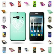 For ALCATEL One Touch Evolve 2 4037T Hard Slim Rubberized Back  Cover
