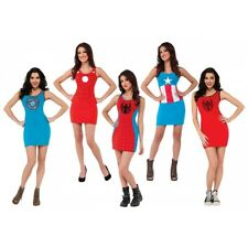 Superhero Tank Dress Costume Adult Halloween Fancy Dress