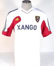Adidas ClimaCool MLS Real Salt Lake White Short Sleeve Soccer Jersey Mens NWT