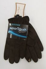 NEW ISOTONER SMART TOUCH GLOVES FAUX FUR LINED  BROWN  CHOOSE SIZE $50