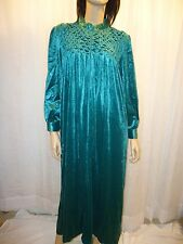 NEW Womens Soft & Elegant Zip Front Velour Robe in Several Sizes & Colors S - 4X