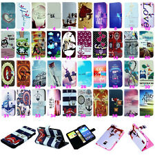 Vintage Stand Flip Wallet Leather Hybrid Case Cover For Samsung Galaxy Various