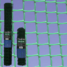 50mm Square Green Plastic Garden Fencing Mesh Planter Climbing Clematis Netting