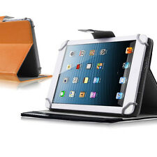 """Soft Universal 8"""" 9"""" Android Tablet Folio Leather Stand Cover Case Holster 8inch"""
