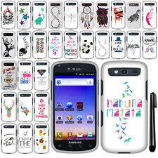 For Samsung Galaxy S Blaze 4G T769 Art Design PATTERN HARD Case Cover + Pen