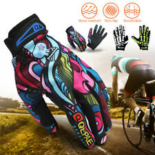 QEPEA Weight Lifting Workout Body Building Training Gym Full Finger Gloves Mitts