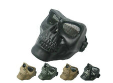 Outdoor M02 military combat Skeleton Full Face mask protect  hunting paintball