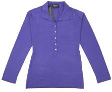 JOHN SMEDLEY Bakewell Womens Polo Shirt in Blue Orchid