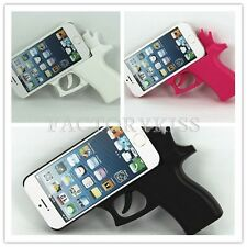 Cool Trendy Toy Gun Style Silicone Rubber Case Cover For IPhone 5 5S Cellphone