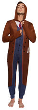 Doctor Who 10th Doctor David Tennant NWT Adult Lounge Union Suit Pajamas