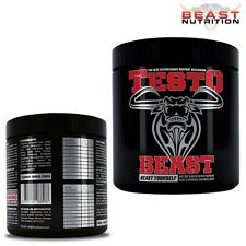Testo Beasts Muscle Growth Supplements Natural Bodybuilding Proteins Powder 450g