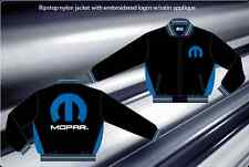 MOPAR Black Blue Racing Jacket Coat Ripstop Adult Mens Size M L XL 2XL 3XL NEW