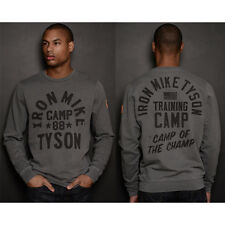 Roots of Fight Tyson '88 Champ Camp French Terry Sweatshirt - Gray