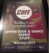 AMINE EDGE & DANCE CUFF @ SANKEYS - IBIZA CLUB POSTERS - 2014 - G HOUSE MUSIC DJ
