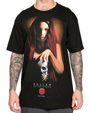 Sullen Clothing Gitana Mens T Shirt Black Skull Tattoo Goth Tee