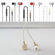 3.5mm Mic In-Ear Earbuds Stereo Earphone Headphone For Cellphone Iphone Samsung