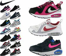 New! Nike Air Max Skyline/Trax/Ivo Kids Sport Shoes Running Sneakers