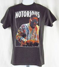 Mens New Biggie Notorious BIG Heathered Grey Gray T-Shirt Size S M L XL 2XL