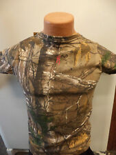 NEW- Womens Browning Reatree Xtra Camo T-Shirts With Pink Logo Deer Head