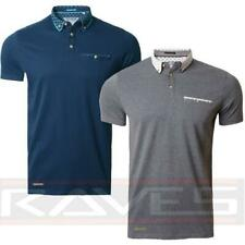 Mens Pique Polo Shirt T-shirt Top Short Sleeve Cotton Threadbare Fayette Polo