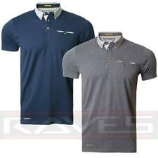 Mens Pique Polo Shirt T-shirt Top Short Sleeve Cotton Threadbare Dougal Polo