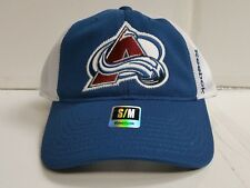 Colorado Avalanche Reebok Cap Unstructure Mesh Stretch Flex Fit Fitted Hat NHL
