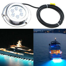 3/6 LED ROUND Super Bright LED Marine Underwater Light Boat Yacht light FISHING