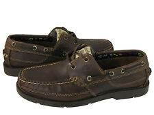 Timberland Mens Earthkeepers Kia Wah Bay 2-Eye 5232R Brown Taupe Boat Shoes