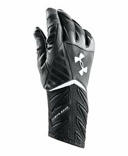 NWT UNDER ARMOUR MEN'S BLACK HIGHLIGHT FOOTBALL GLOVES - S M L XL