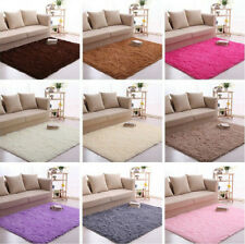Plush Rectangle Living Room Bedroom Floor Mat Cover Carpet Floor Rug Area Rug