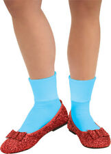 Womens Adult The Wizard Of Oz Deluxe Sequin Red Dorothy Slippers Costume Shoes