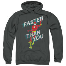 The Flash Faster Then You DC Comics Licensed Adult Pullover Hoodie S-3XL