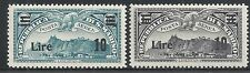 San Marino stamps 1941 YV Airmail 19-20  ZEPPELIN  MNH  VF