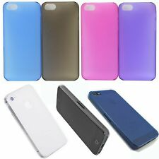 Matte Ultra Thin Hard Back Phone Protector Case Cover For Apple iPhone 5 5G 5S