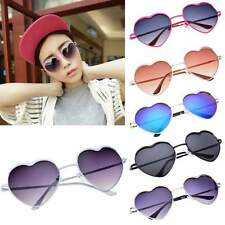Fashion Women Cute Heart Design Sunglasses Eye Glasses Shades Outdoor Decoration
