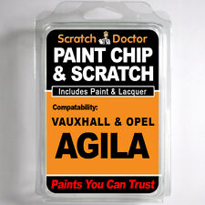 VAUXHALL / OPEL AGILA TOUCH UP PAINT Chip Scratch Car Repair Kit . 2012 - 2014