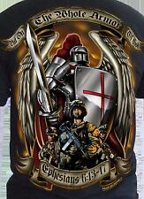 Armor of God T-shirt US Army Marine Corps Air Force Navy USMC Bible Quote S - 2X