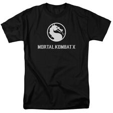 Mortal Kombat X Dragon Game Logo Licensed Adult Shirt S-3XL