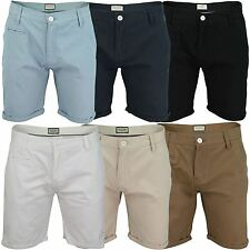 Mens Chino Shorts by Brave Soul 'Fern' Cotton Twill VH2