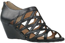 ZENSU CAGE LADIES/WOMENS SOFT LEATHER WEDGES/SHOES/SANDALS/HEELS/ON SALE NOW!