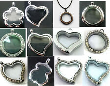 Mixed New Fashion 30mm Floating Charms Memory living Glass Locket DIY Jewelry