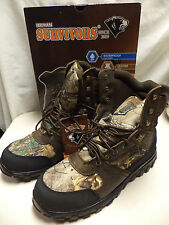 "NEW- Herman Survivors 400 Grain Thinsulate Waterproof Boots-8""-Sizes 12 & 13"